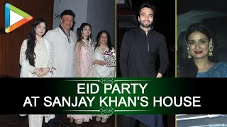 Bollywood celebs spotted at Sanjay Khan's house for EID party - HUNGAMA