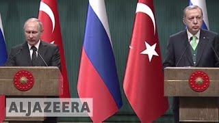 Putin, Erdogan warn US move risks escalating tensions - ALJAZEERAENGLISH