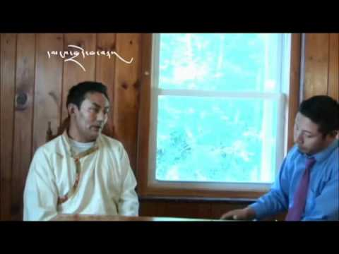 (Tibetan public talk mtkdusa2011) Interview with Lobsang Dorjee  Part 1