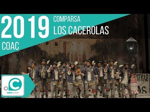 La agrupación Los cacerolas llega al COAC 2019 en la modalidad de Comparsas. Primera actuación de la agrupación para esta modalidad.