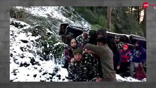 CRPF Jawans conducted rescue operation;  saved 9 Scorpio Riders - ZEENEWS
