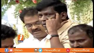 Hero Vishal and Vadivelu Pays Tribute To Kalaignar Karunanidhi at Rajaji Hall | Chennai | iNews - INEWS