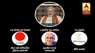 Master Stroke: Over four crore registered unemployed in the country today - ABPNEWSTV