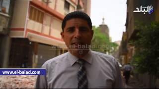 بالفيديو والصور.. رئيس حي جنوب الجيزة: إزالة 'عقار الموت' انقذ 13 أسرة