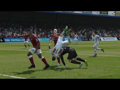 عندما تسمح لك كرة القدم بالانتقام / FIFA16 When allow football revenge #