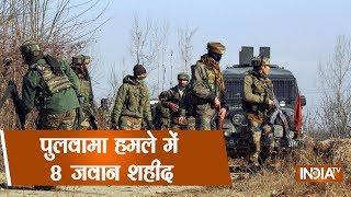 8 CRPF Jawans Injured In Pulwama After IED Blasts, Gunshots Fired - INDIATV