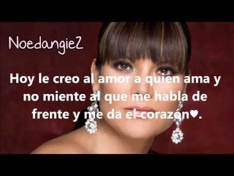 Diana Reyes - Yo no creo en los hombres (Letra)