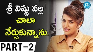 Actress Chitra Shukla Exclusive Interview Part #2 || #MaaAbbayi || Talking Movies With iDream - IDREAMMOVIES