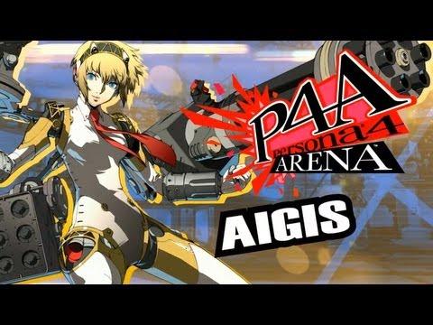 Persona 4 Arena Moves Video: Aigis