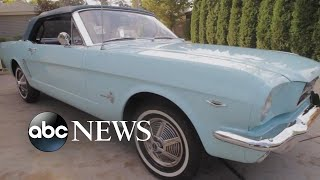 First Mustang ever sold to be on display by Ford in Michigan - ABCNEWS