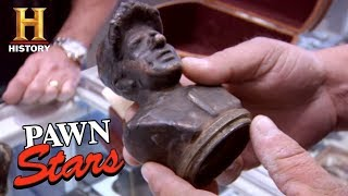 Pawn Stars: Baseball Hall of Fame Bust Molds (Season 6) | History - HISTORYCHANNEL