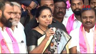 MP Kavitha Participates In NRI TRS UK Cell 8th Anniversary Celebrations in Telangana Bhavan|CVR News - CVRNEWSOFFICIAL