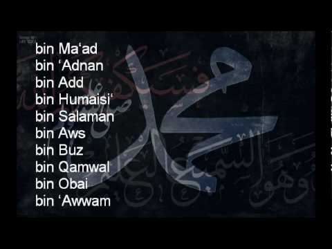 MUST KNOW THIS- Lineage of Prophet Muhammad [pbuh] NASAB - Maulana Tariq Jameel