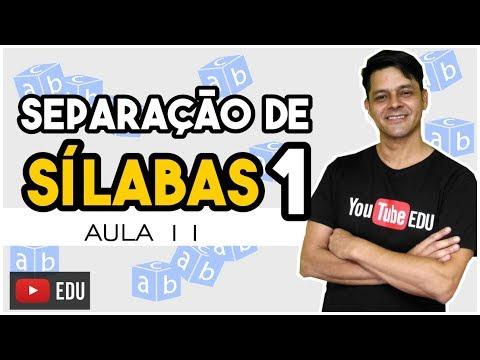 Fonologia - Aula 11 - Separação de Sílabas