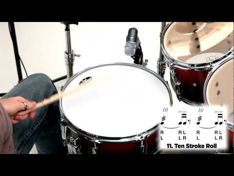 Pearl Drum Rudiments - 10 Stroke Roll