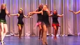 Выступление в конкурсе бальных танцев - Латина, Самба