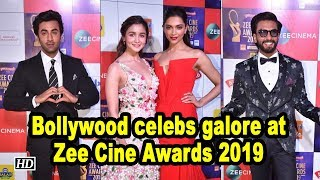 Bollywood celebs galore at Zee Cine Awards 2019 - BOLLYWOODCOUNTRY