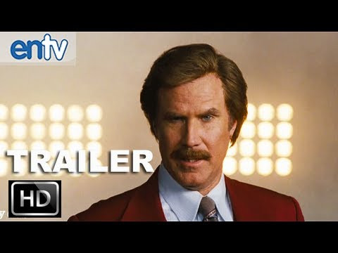 Anchorman 2 Teaser Trailer 2 HD Ron Burgundy Did You Miss My Hot Breath In Your Ear