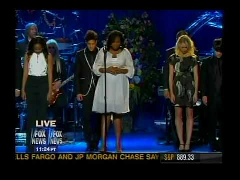 FOX NATION - Michael Jackson Memorial - JENNIFER HUDSON
