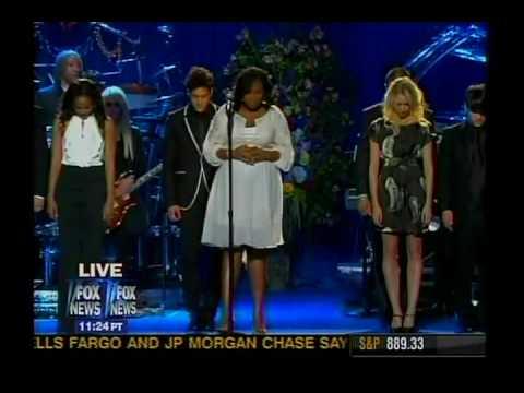 FOX NATION - Michael Jackson Memorial - JENNIFER HUDSON