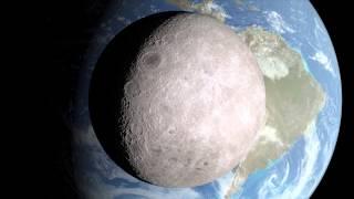 ناسا تكشف الوجه الآخر للقمر (فيديو)
