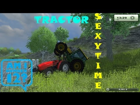 (My Tractors are Having SEX) Farming simulator 2013 Water-Scorpion's Gaming Ep. 12