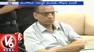 Governor submits report on Telangana Household Survey to NDA government - V6NEWSTELUGU