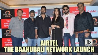 Airtel - The Baahubali Network launch - idlebrain.com - IDLEBRAINLIVE