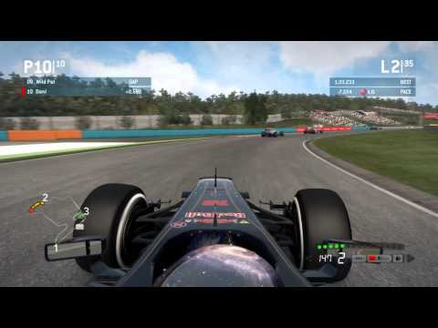 Codemasters F1 2013 - Pro League | Round 10: Hungaroring - Gocompete 2014