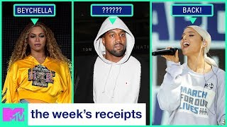 Beyoncé Slays Coachella & Kim Kardashian Has Dinner w/ Obama | The Week's Receipts | MTV - MTV