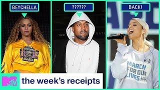Beyoncé Slays Coachella & Kim Kardashian Has Dinner w/ Obama | The Week's Receipts | MTV - MTV