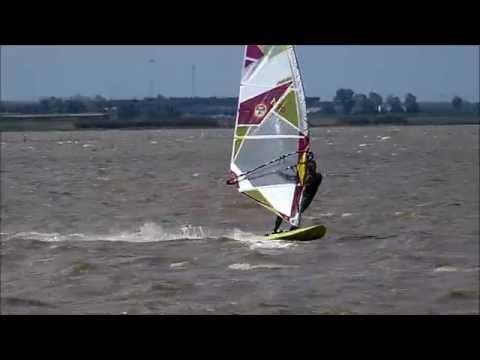 windsurf lago di lesina con Cesare Latino