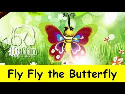 Muffin Songs – Fly Fly the Butterfly Tekerlemeler ve İngilizce Çocuk Şarkıları