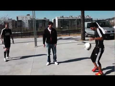 """FIFA STREET Behind The Scenes - Messi """"Show Me Your Skills!"""" JAYZINHO & Andrew Henderson"""