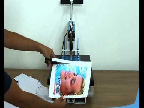 Como estampar uma camiseta - Compacta Print