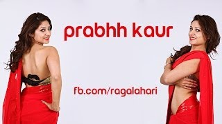 Mumbai Model Prabhh Kaur in Red Saree - Ragalahari Exclusive Photo Shoot - RAGALAHARIPHOTOSHOOT