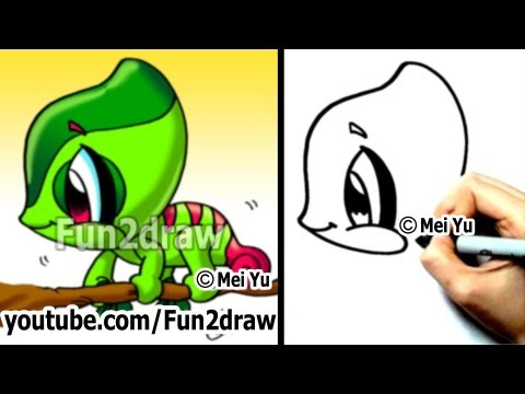 Nasıl Çizilir: Bukalemun