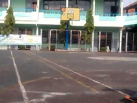 Freekick in ring basket at smpn 7 kuningan
