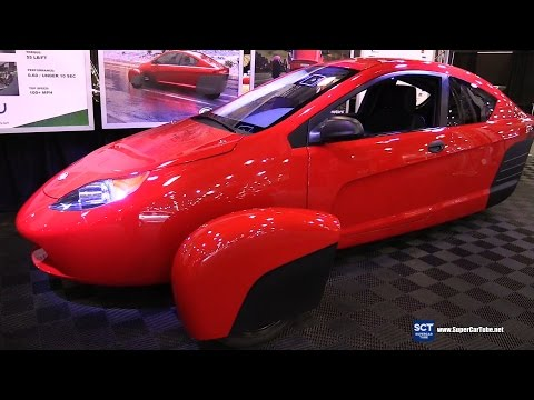 Elio Motors ePlus  Exterior and Interior Walkaround
