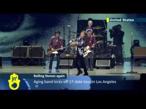 Rolling Stones begin 2013 US tour: legendary British rock band will play 17 US cities