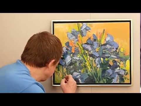 Jak malować farbami olejnymi? - IRYSY cz.3 - MALUJ SAM(A)