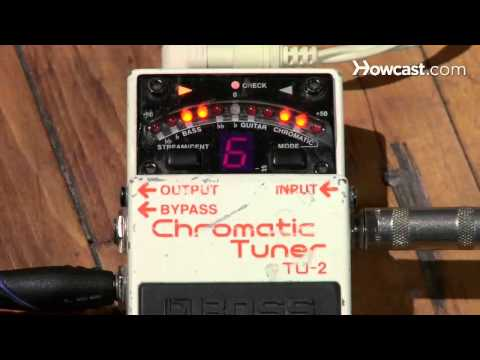 How to Play Guitar: Beginners / Tuning by Electric Tuner