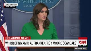 WH on Moore: It's up to the people of Alabama - CNN