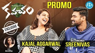 Actor Bellamkonda Srinivas & Actress Kajal Aggarwal Interview - Promo || Talking Movies With iDream - IDREAMMOVIES