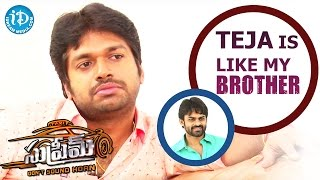 Sai Dharam Teja Is Like My Brother - Anil Ravipudi || #Supreme Movie || Talking Movies With iDream - IDREAMMOVIES