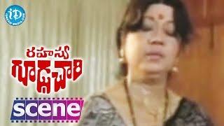 Rahasya Gudachari Movie Scenes - Annapurna Argues With Satyanaraya || Krishna || Jayaprada - IDREAMMOVIES