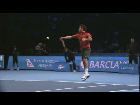 Roger Federer - Super Slow Motion Forehand