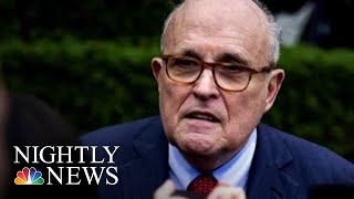 Giuliani: 'I Never Said There Was No Collusion Between The Campaign' And Russia | NBC Nightly News - NBCNEWS