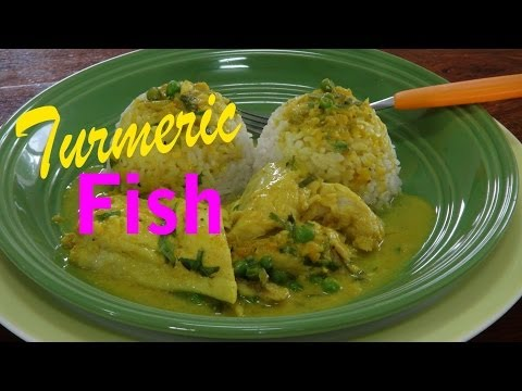 Cooking Fish Recipes  and Coconut Turmeric