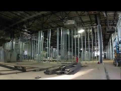 Steel Stud Wall Framing Construction  HD